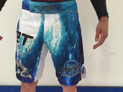 10PSF Human Rubber Guard Double Bags Alien Grappling Shorts